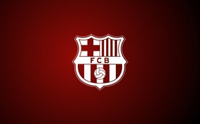 Wallpaper football, logo, club, emblem, Spain, Barcelona, Barcelona
