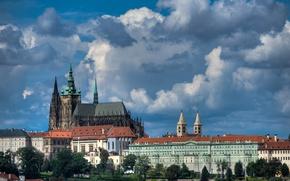 Picture Prague, Czech Republic, St. Vitus Cathedral, Prague castle