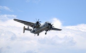 Picture tactical, deck, Grumman, transport aircraft, C-2A