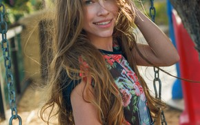 Picture smile, model, Girl, beautiful, Lyuda