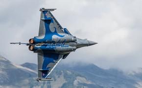 Picture fighter, multipurpose, Dassault Rafale