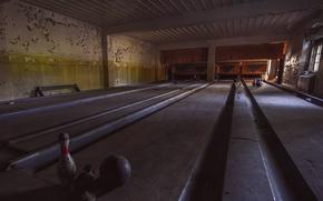 Wallpaper hall, bowling, sport