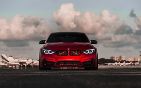 Wallpaper BMW, Light, Front, RED, Face, F82, Sight, LED, Evel
