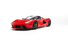 Picture Ferrari, White, Scuderia, RED, LaFerrari