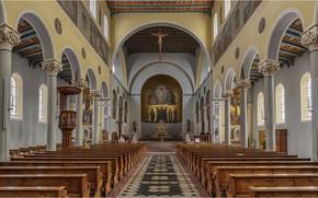 Picture Germany, Church, Bavaria, Friedberg, St. Jakob