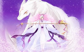 Picture anime, art, guy, friends, characters, natsume yuujinchou, youkai, Book of friendship Natsume