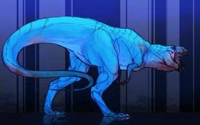 Picture predator, Dinosaur, T Rex