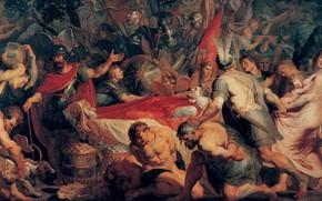 Picture picture, genre, Peter Paul Rubens, Pieter Paul Rubens, The Funeral Of Publius Decius Musa