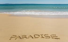 Picture sand, sea, wave, beach, summer, summer, beach, sea, ocean, seascape, sand, wave, paradise