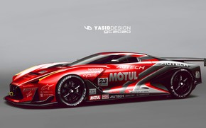 Picture Auto, Figure, Machine, Nissan, Art, Art, Supercar, Yasid Design, Yasid Oozeear, YASIDDESIGN, GT2020, GT 2020, ...