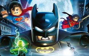 Picture moon, toy, Batman, weapon, movie, bat, Lego, Robin, Superman, film, mask, animated film, Bruce Wayne, ...