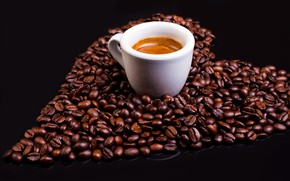 Picture Coffee, Drink, Coffee beans