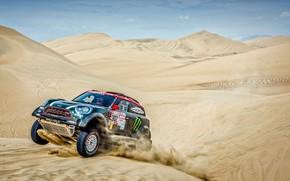 Picture Sand, Mini, Sport, Desert, Speed, Race, 302, Rally, Dakar, Dakar, SUV, Rally, Dune, X-Raid Team, ...