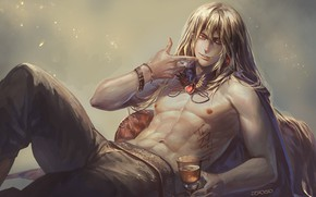 Picture sexy, anime, art, guy