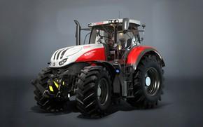 Picture tractor, Farming Simulator 17, Steyr Terrus CVT