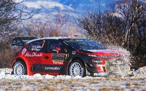 Picture Winter, Auto, Snow, Sport, Machine, Race, Citroen, Citroen, Car, WRC, Rally, Rally, Kris Meeke, Rallye …