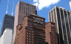 Picture Chicago, USA, America, the hotel, Il, Allerton Hotel Chicago, Allerton