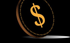Picture Wallpaper, money, vector, Dollar, detail, the Wallpapers, vector graphics, Dollars, coin, PNG, beautiful coin, Chenaya, …