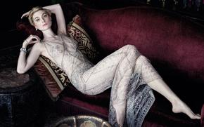 Picture Elizabeth Debicki, Elizabeth Debicki, Vanity Fair, at the photo shoot for the September issue of …