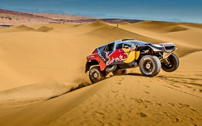 Picture Sand, 2008, Sport, Speed, Race, Day, Peugeot, Heat, Red Bull, Rally, Dakar, Dakar, Rally, Sport, ...
