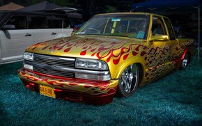 Picture design, Chevrolet, airbrushing