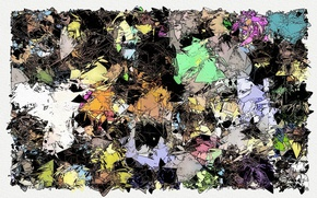Picture background, color, form