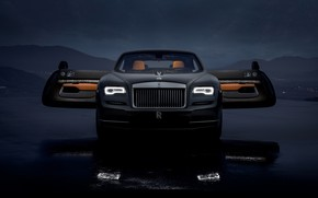 Picture Rolls-Royce, front view, 2018, Wraith, Luminary Collection