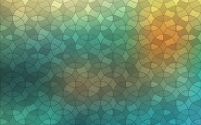 Wallpaper circles, abstraction, abstract, geometry, design, background, blur, color, geometric