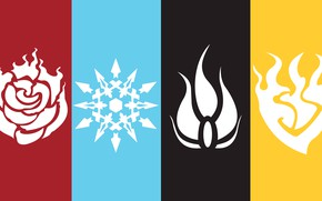 Picture white, yellow, red, black, art, red, white, black, yellow, RWBY, red white black yellow