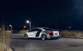 Picture Audi, Night, Rear, Superar