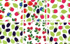 Picture berries, background, texture, pattern, fruit, color