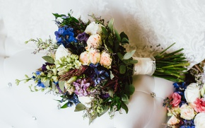Picture flowers, bouquet, wedding