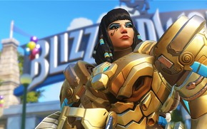 Picture warrior, OVERWATCH, Pharah ASP Character Skin
