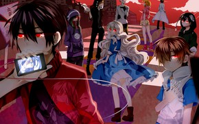 """Picture anime, art, Kagerou Project, The project """"hot Fog"""", Project a Sultry mist"""