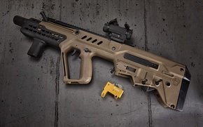 Wallpaper Tavor, machine, assault rifle