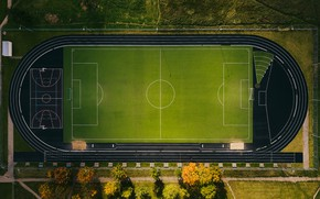 Picture field, sport, stadium