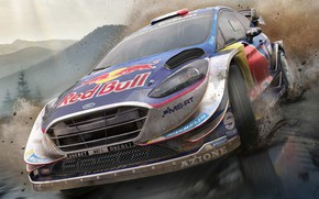 Picture Ford Fiesta, WRC 7, BigBen Interactives, Pack Shot