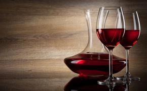 Wallpaper glass, decanter, wine, alcoholic beverage