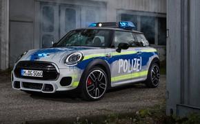Wallpaper 2018, MINI, John Cooper Works, Polizei