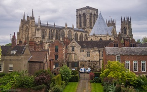 Picture castle, England, York, architecture, Palace, home
