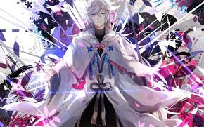 Picture anime, art, Merlin, Fate/Grand Order, fate/grand order