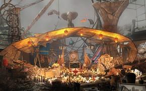 Picture lanterns, piling up, sorgenia, The Sacrificial Washing Machine, LSD Trip