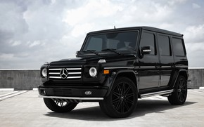 Picture Mercedes, wheels, AMG, G55
