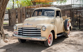 Picture retro, classic, chevrolet, pickup