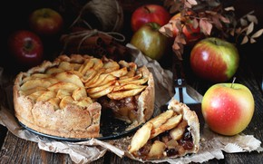 Picture apples, pie, cakes