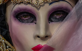 Wallpaper carnival, mask, look, Venice
