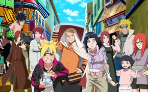 Picture anime, art, Naruto, characters