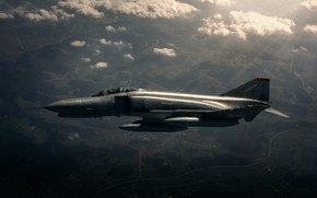 Picture fighter-interceptor, F-4 Phantom II, McDonnell Douglas