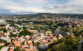Picture Home, Panorama, Roof, Georgia, Georgia, Panorama, Tbilisi, Tbilisi