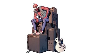 Wallpaper Marvel Comics, Spider-man, comic, Spider-man, Spider Punk